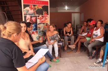 No GEMPAC - Organizadoras ajustam preparativos para oficina